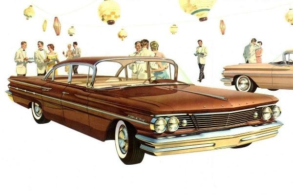 1960 Pontiac Star Chief Sedan