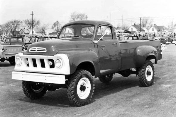 1960 Studebaker Champ 4x4 pickup