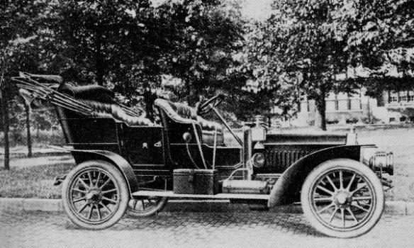 1907 Aerocar Model F 40 hp