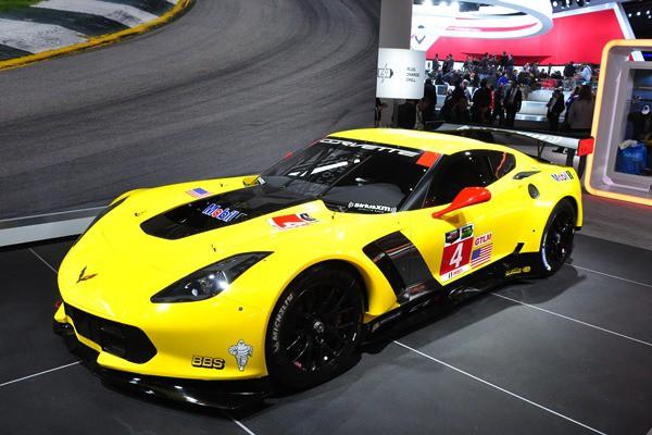 2015 Corvette C7.R GTLM racer