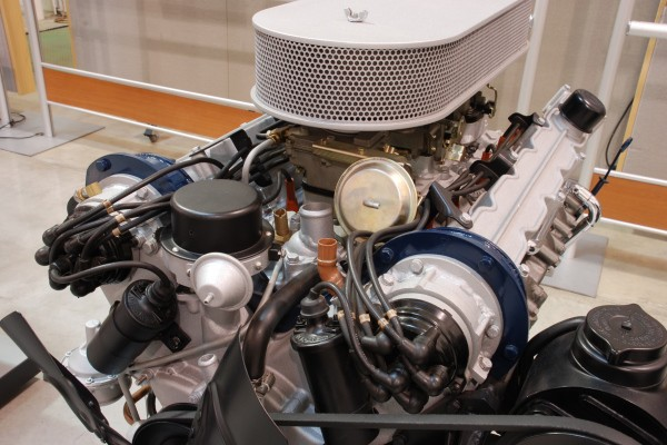 Cadillac V12 top front view