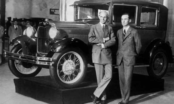 Henry and Edsel Ford Model A