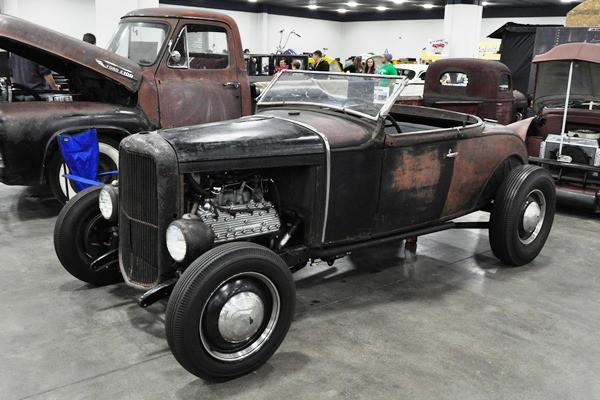 1930 Ford A-V8 roadster highboy Scott Shehan