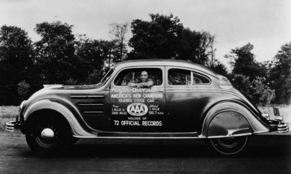 1934 Chrysler Airflow AAA records