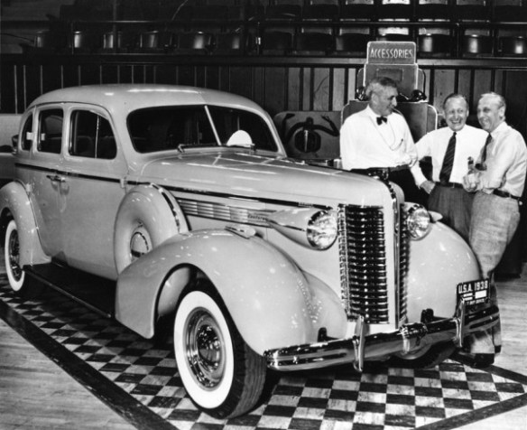 1938 Buick Knudsen Curtice Sloan