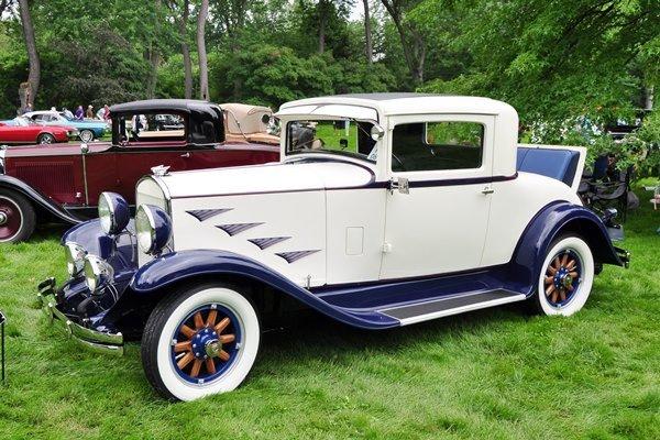 1930 Chrysler Model 70 Royal Coupe Tim & Julia Wolfe