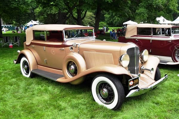 1933 Auburn 8-105 Salon Phaeton Sedan Al & Pat Hatch