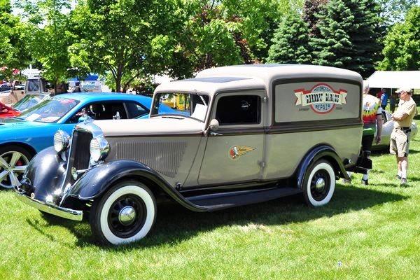 1935 Dodge Panel Gordon Rinschler