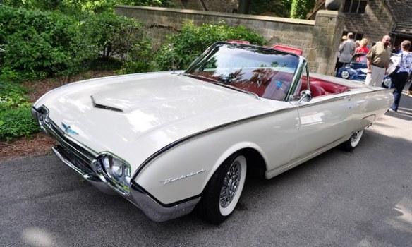 1961 Ford Thunderbird Marianne Peggie