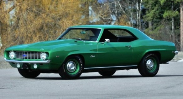1969 COPO Camaro green