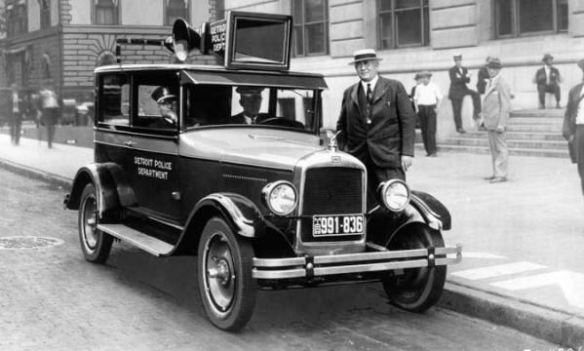 1925 Jewett Brougham Police Car