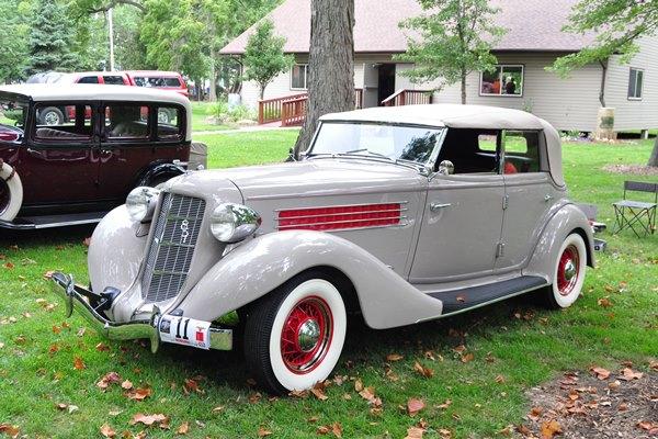1935 Auburn 851 Phaeton Riachrd Dove