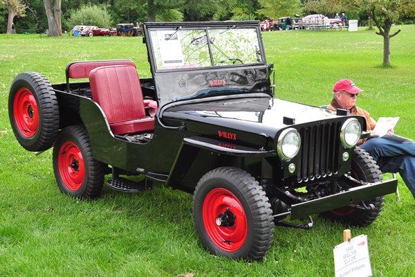1948 Willys Jeep CJ2A Richard Folsom
