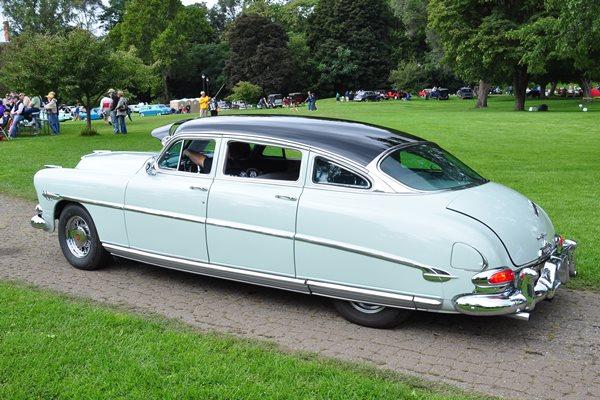 1953 Hudson Hornet four-door sedan Tim Burns