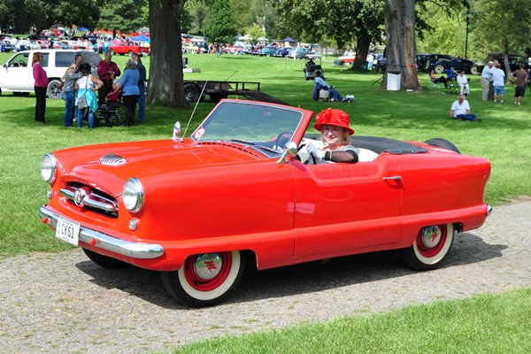 1955 Hudson Metropolitan Convertible Noel and Cynda Renner