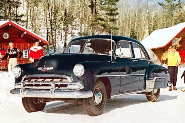 1952 Chevrolet Styleline Deluxe 4 Door Sedan