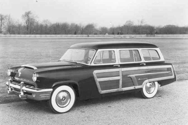 1952 Mercury Monterey Station Wagon