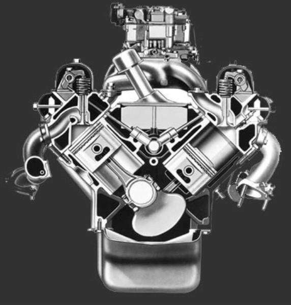 Buick V8 black