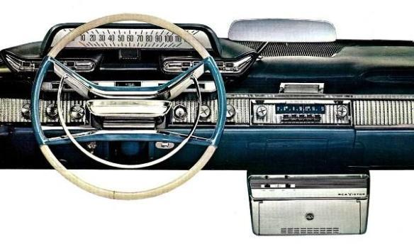 1961 DeSoto dash 600