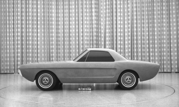 Ford Mustang concept 2-seater 4-23-64