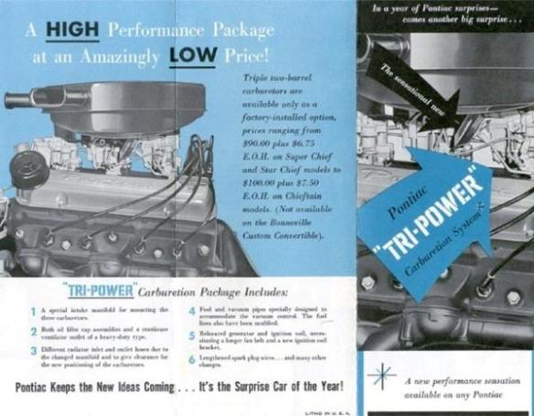 Tri-Power brochure page