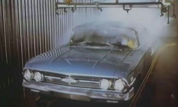 1960 Chevrolet water bath