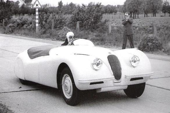 Jagaur XK120 Belgium