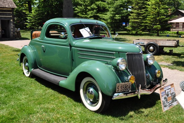 1936 Ford Three-Window Coupe Frances Fisher