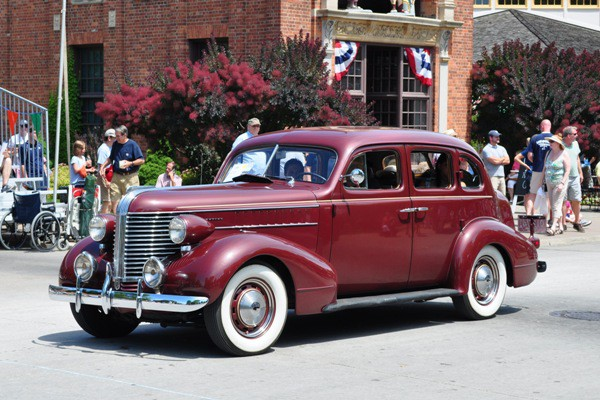 1938 Pontiac Touring Sedan Tom Whitlock
