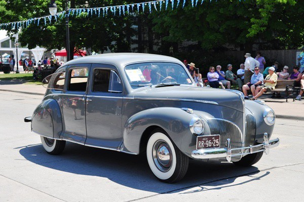1941 Lincoln Zephyr Sedan John McDermid