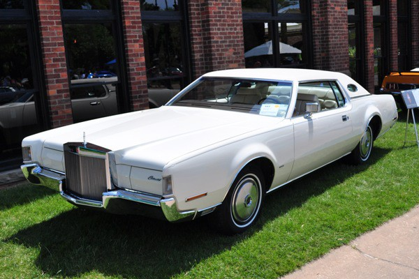 1972 Lincoln Continental Mark IV Thomas Pascoe