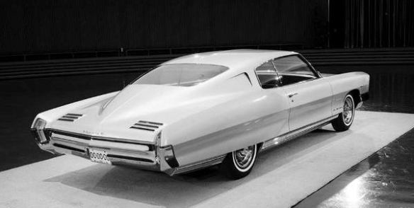1963 April Pontiac 1965 GP proposal rear 600