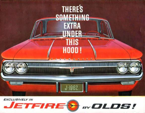1962 Oldsmobile Jetfire Under Hood