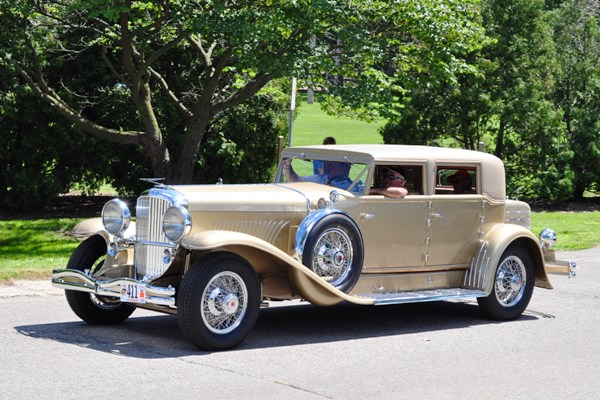 1934 Duesenberg J-468 Beverly Sedan Anthony Ficco