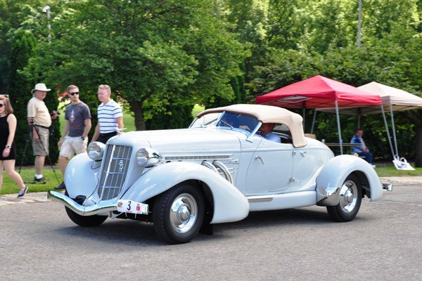 1935 Auburn 851 Speedster David Gaunt