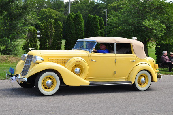 1936 Auburn 852 Conv. Sedan James Nicholson