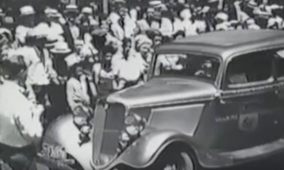 Video 10 000 miles in 10 days in a 1933 ford v8 mac 39 s for Ford motor company 10k 2016