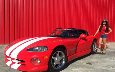 1996 Dodge Viper RT/10 Convertible