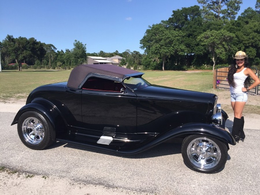 1932 Ford Roadster Zipper Custom