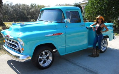 1957 Chevy pick up