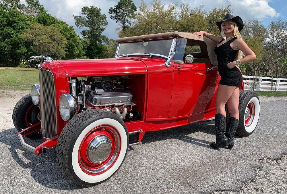 1932 Ford Highboy Roadster  $32,900.00