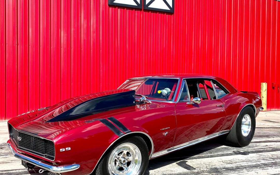 1967  Camaro Pro Street $55000  8 Second Car
