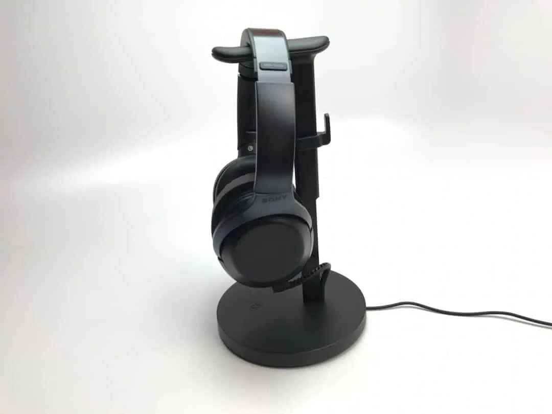 Twelve South Fermata Headphone Stand REVIEW Wireless headphone charging stand.