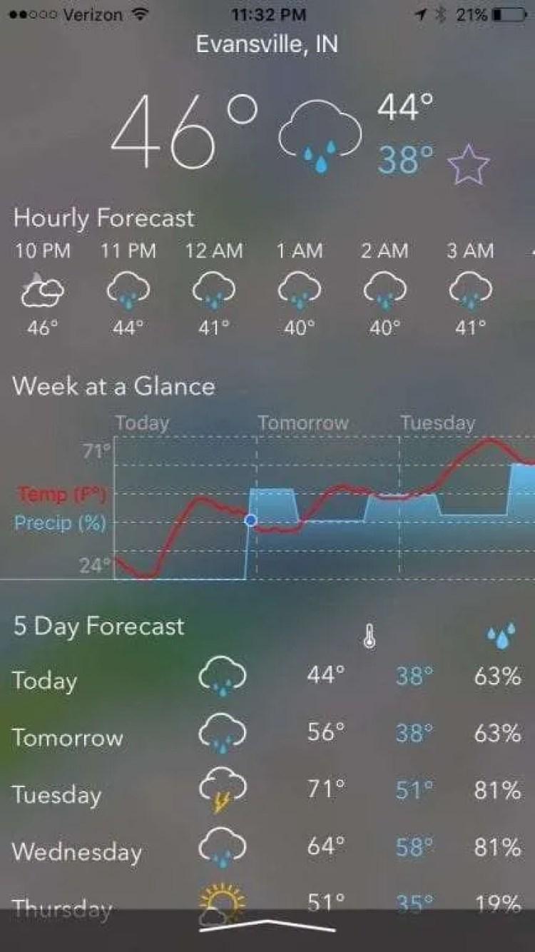 MyRadar NOAA Weather Radar iOS App REVIEW | Mac Sources