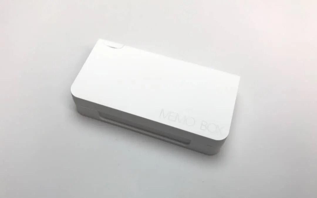 Memo Box Mini REVIEW Smallest Smart Pillbox