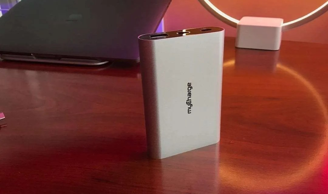 myCharge Razor Platinum Portable Charger for MacBook REVIEW
