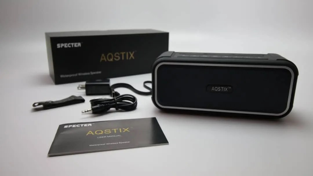 Specter AQSTIX Waterproof Wireless Speaker