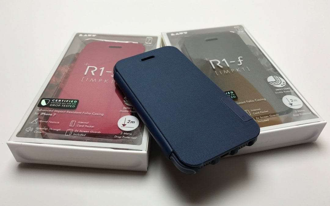separation shoes 477c0 bdd02 LAUT R1-f iPhone Case REVIEW Strong, functional folio case | Mac Sources