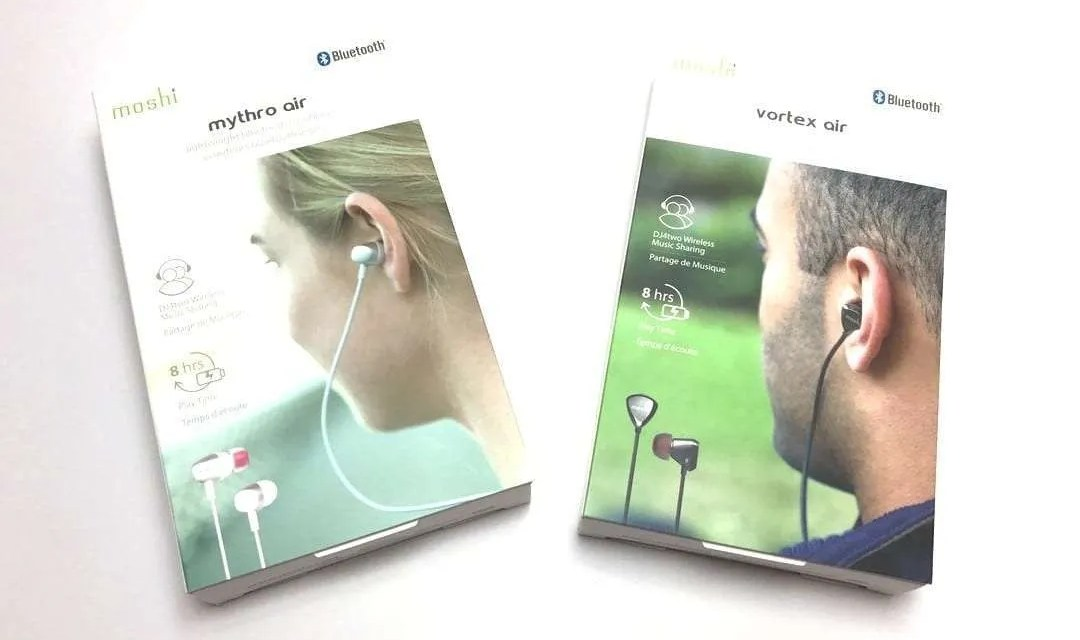 Moshi Mythro Air and Vortex Air Wireless Earphones REVIEW