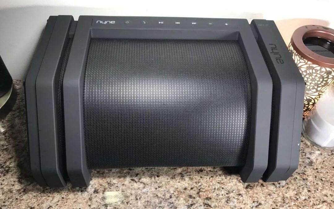 Nyne Rebel Wireless Bluetooth Speaker REVIEW